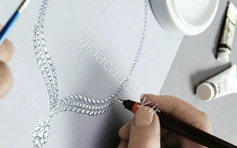 طراحی طلا و جواهر کلاسیک